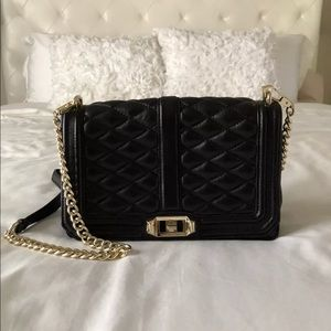 Rebecca Minkoff Quilted Love Crossbody